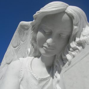 scultura marmo bianco carrara
