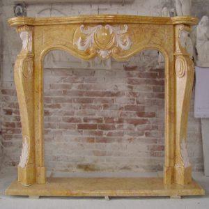camino marmo giallo egiziano