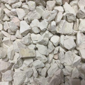 white verona marble gravel