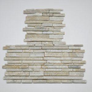 listelli rivestimento pietra quarzite rete hymsq09