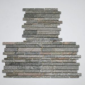listelli rivestimento pietra quarzite rete hymsq10