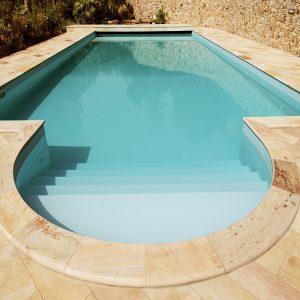piscina piastrelle quarzite brasiliana