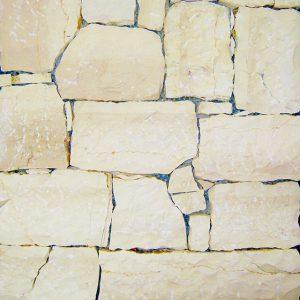 yellow crema moka stone covering sawn cut