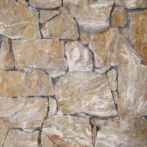 yellow lumachella stone covering sawn cut