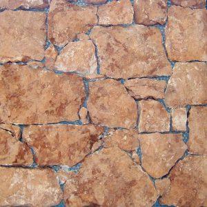 rivestimento pietra retrosegato rosso verona