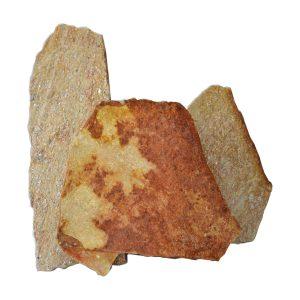 mosaico pietra quarzite terra di siena rivestimento