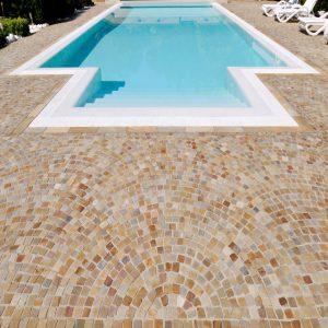 brazilian quartzite pool
