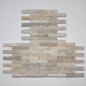 listelli rivestimento pietra quarzite rete hyms084