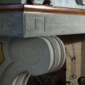 carniglia stone fireplace