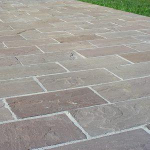 pavimento piastrelle pietra indiana autumn brown