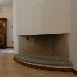 luserna stone fireplace
