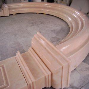 portale marmo rosa portogallo