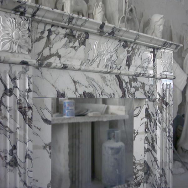 camino marmo arabescati di corchia