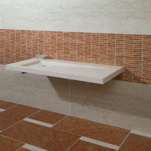 rosso verona marble bathroom