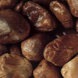 brown marble pebbles