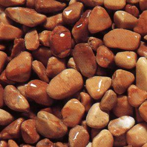 red verona marble pebbles