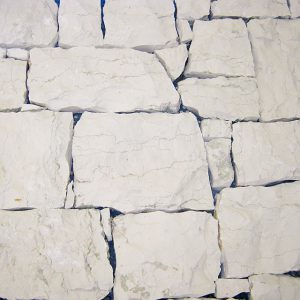 rivestimento pietra retrosegato bianco asiago