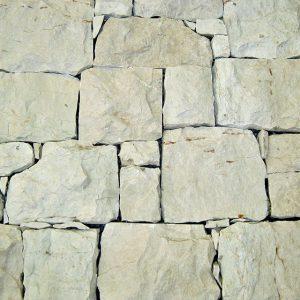 rivestimento pietra retrosegato bianco perla