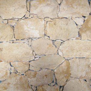 rivestimento pietra retrosegato giallo provenza