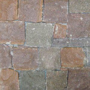 rivestimento pietra retrosegato porfido cembra