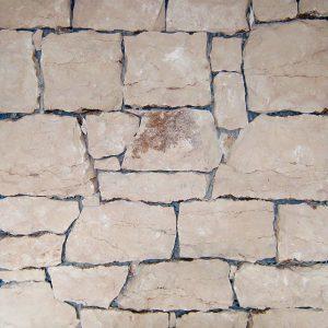 vintage pink stone covering sawn back