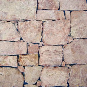 rivestimento pietra retrosegato rosa selva