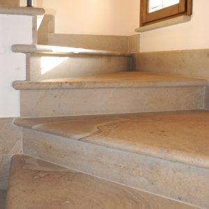 quarzirenite stone stair