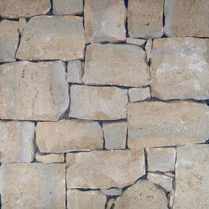rivestimento pietra retrosegato travertino
