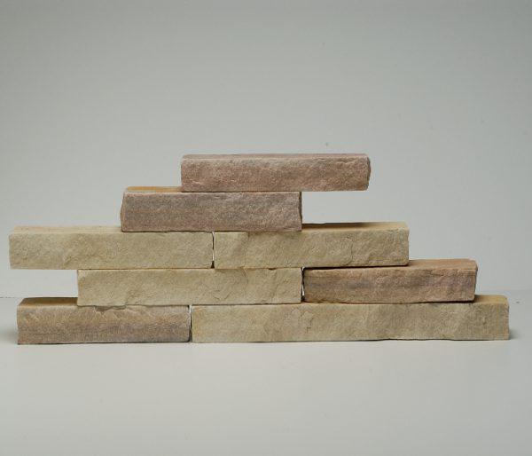 blocchetti tranciati pietra quarzite brasiliana rivestimento