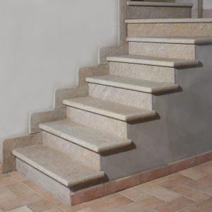 golden luserna stone stair