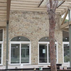 rivestimento muro pietra di langa retrosegata